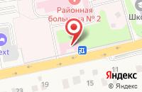Схема проезда до компании Перхушковская поликлиника в Лапино