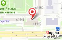 Схема проезда до компании Унион в Москве