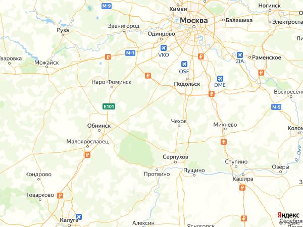 СНТ Сосны на карте