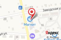 Схема проезда до компании Кубань в Старотитаровской