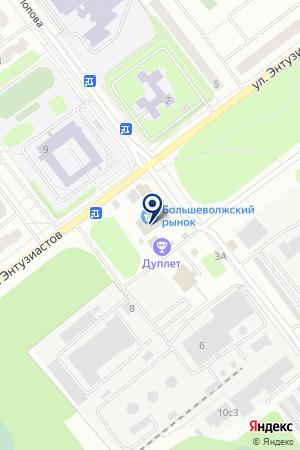 НАУЧНЫЙ ЦЕНТР ДЕДАЛ на карте Дубны