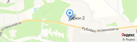 Деревенский дворик на карте Горок-2