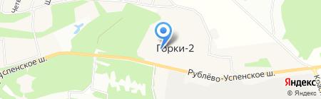 Горковская средняя общеобразовательная школа на карте Горок-2