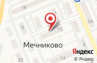 Схема проезда до компании Техстройконтракт в Грибаново