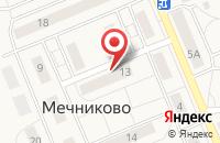 Схема проезда до компании Жилищник в Грибаново