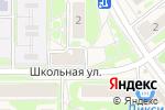 Схема проезда до компании Интерьер в Москве