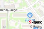 Схема проезда до компании Фотоцентр на Школьной в Москве