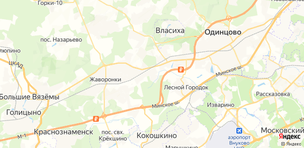 Трубачеевка на карте