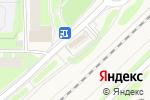Схема проезда до компании Декор окон в Москве