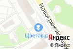 Схема проезда до компании Художественный салон в Москве