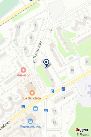 ПРОДОВОЛЬСТВЕННЫЙ МАГАЗИН ТРОЙКА на карте Дубны