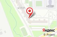 Схема проезда до компании Стройтур в Москве
