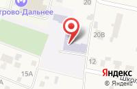 Схема проезда до компании Петрово-Дальневская средняя общеобразовательная школа в Грибаново