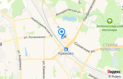 Местоположение на карте пункта техосмотра по адресу г Москва, г Зеленоград, ул Панфилова, д 28Б стр 1