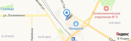Центурион на карте Москвы