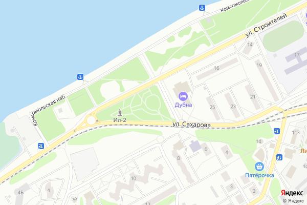 Ремонт телевизоров Город Дубна на яндекс карте