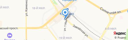 Промпластсервис на карте Москвы