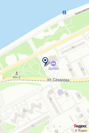 ПРЕДПРИЯТИЕ ЛИФТОВОГО СЕРВИСА ВЕРТИКАЛЬ на карте Дубны