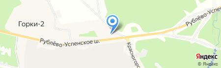 АЗС ОРТК на карте Горок-2