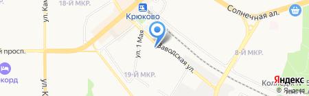ВРС на карте Москвы