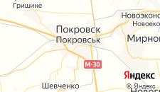 Гостиницы города Красноармейск на карте