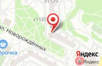 Схема проезда до компании Ск-Спутник в Москве