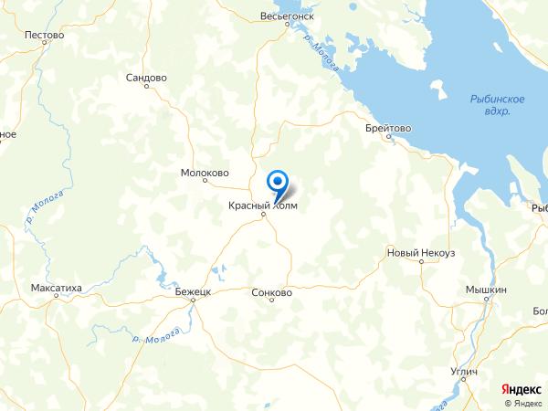 деревня Думино на карте