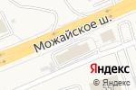 Схема проезда до компании А-Массаж в Юдино