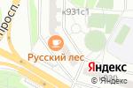 Схема проезда до компании ЛЕ-ФАРМ в Москве