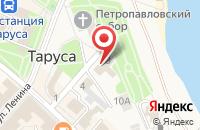 Схема проезда до компании Столички в Иваново