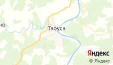 Базы отдыха города Таруса на карте
