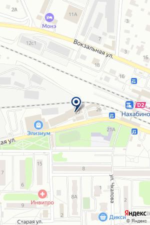 НАХАБИНСКИЙ ОТДЕЛ ВНЕВЕДОМСТВЕННОЙ ОХРАНЫ на карте Красногорска