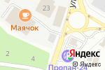 Схема проезда до компании Цветторг в Москве