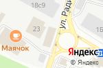 Схема проезда до компании Магазин цветов на ул. Радио в Москве