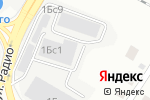 Схема проезда до компании МонтажСервисПлюс в Москве