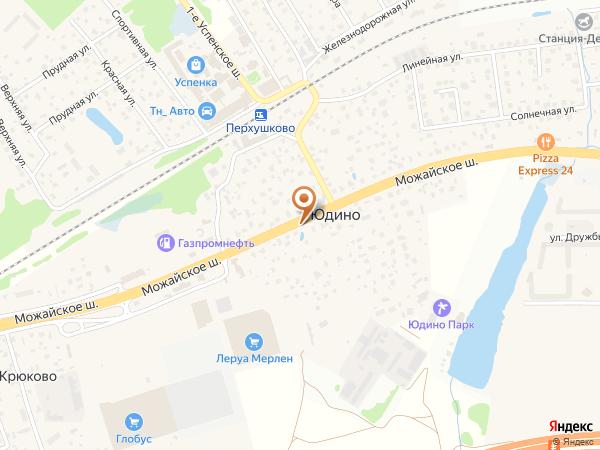 Остановка Юдино (Московская область)