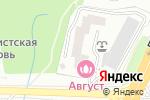 Схема проезда до компании 4banket.ru в Москве