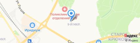 Участковый пункт полиции г. Зеленограда на карте Москвы