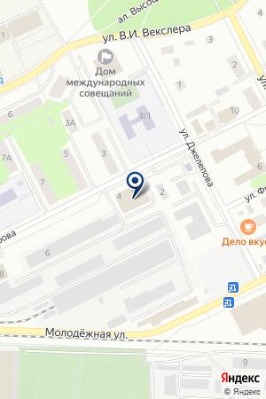 ПРАЧЕЧНАЯ ЧАЙКА на карте Дубны