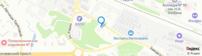 улица Новомалино