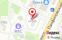 Схема проезда до компании Мп Лес-Ко в Москве