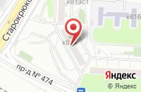Схема проезда до компании Артис Медиа Групп в Москве