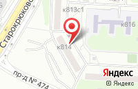 Схема проезда до компании ВУДКОМ в Москве