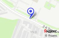 Схема проезда до компании РАСТВОРО-БЕТОННЫЙ УЗЕЛ ПРОИЗВОДСТВЕННАЯ БАЗА БЕТОН в Москве