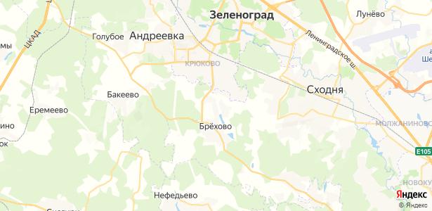 Рузино на карте