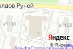 Схема проезда до компании Авто-11 в Москве