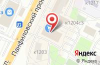 Схема проезда до компании Грин Строй в Москве