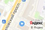 Схема проезда до компании Магазин цветов в Зеленограде