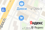 Схема проезда до компании Мульти Окна в Москве