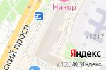 Схема проезда до компании Никор-Н в Москве